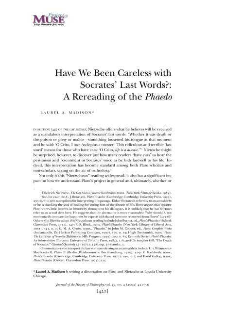 an analysis of death within the philosophy of socrates Analysis of plato's apology the penalty proposed is death by hemlock at this point socrates has the opportunity to propose an alternate penalty but the activity of philosophy itself to those who voted for his aquittal (39e-42a.