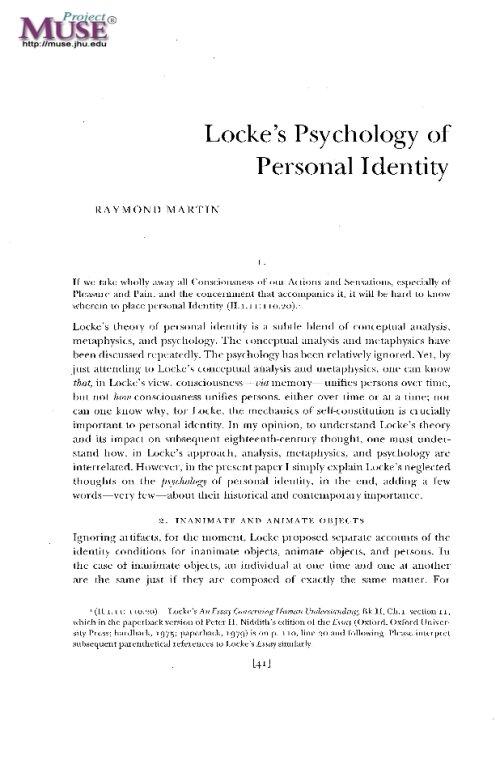locke of identity and diversity pdf