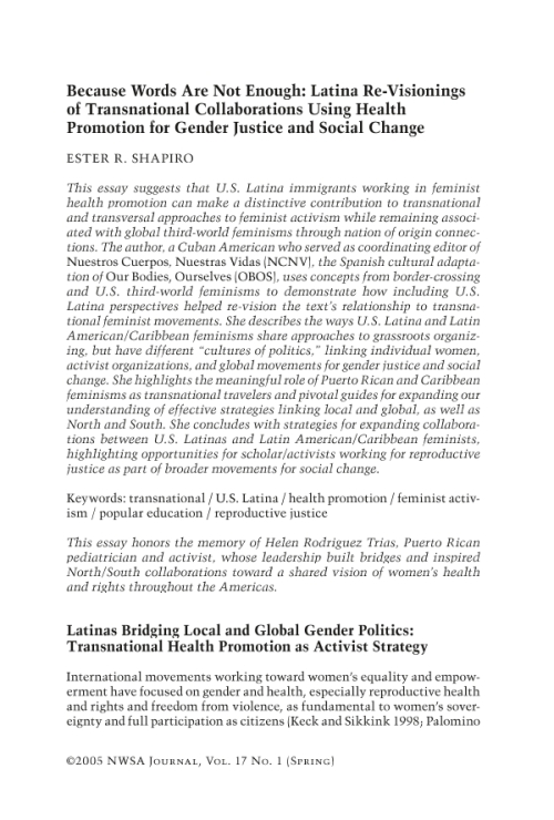 latina feminism national and transnational perspectives 30 | latin american feminist counterpublics challenged national and local communities latin american feminist counterpublics have.