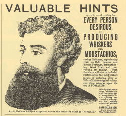 Fig. 3. Extravagant Claims Were Common in Victorian Advertisements []