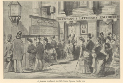Fig. 10. Advertising in Public Spaces, New York City, 1880s []
