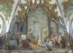 Fig. 16. Marriage of Fredrick I Barbarossa by Giambattista Tiepolo, (1696–1770) []