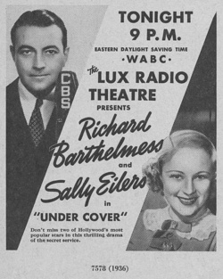 Fig. 22. An Ad for Lux Radio Theatre in the 1930s []