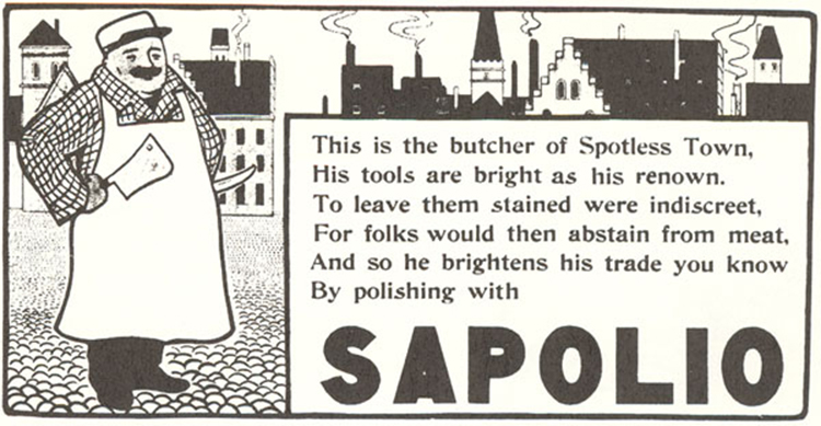 In Its Time (1869–1905) Sapolio Was Perhaps as Well Known as Any Product on the Market [Source]