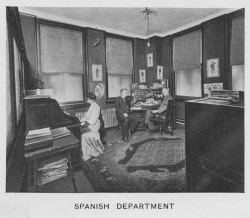 Fig. 26. The Spanish-Language Department Operating out of New York City []
