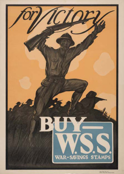 Fig. 2. This Public Service Advertisement Urged Americans to Buy War Savings Stamps []