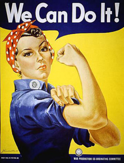 Fig. 13. Rosie the Riveter (1942) Was Sponsored by the Westinghouse Corporation []