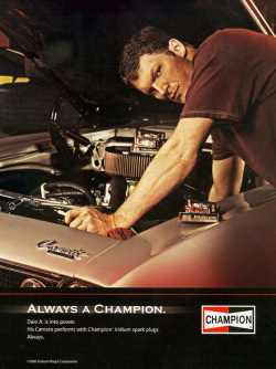 Fig. 25. Dale Earnhardt, Jr., Is Intensely Involved with His Car []