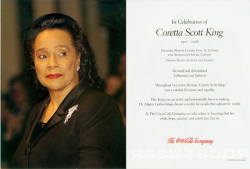 Fig. 77. A Tribute to Coretta Scott King []