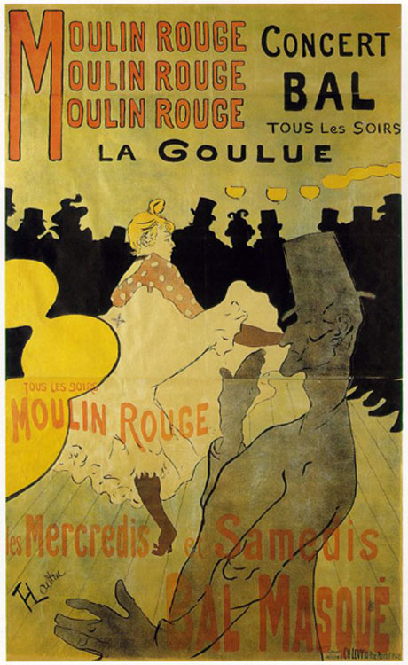 Toulouse-Lautrec's La Goulue (1892) Was an Advertising Poster [Source]