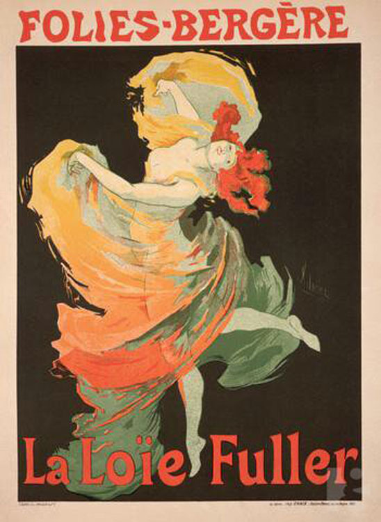 An Example of Early Work by Chéret, Who Is Known as the Father of the French Advertising Poster [Source]