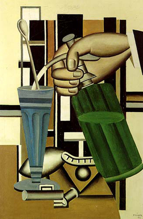 Léger's The Siphon (1924) [Source]