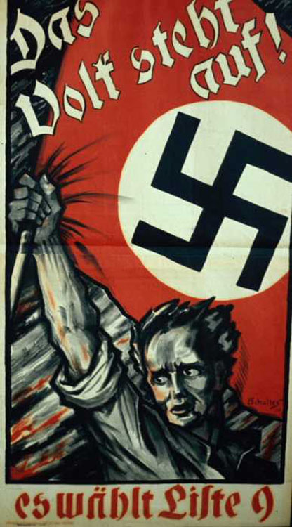 A Nazi Poster from the 1930s [Source]
