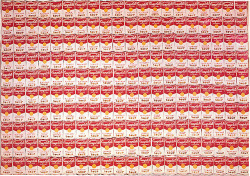 Fig. 25. Warhol's Campbell's Soup Cans (1962) []