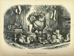 Fig. 5. A Thomas Nast Drawing of Santa Claus from 1872[]