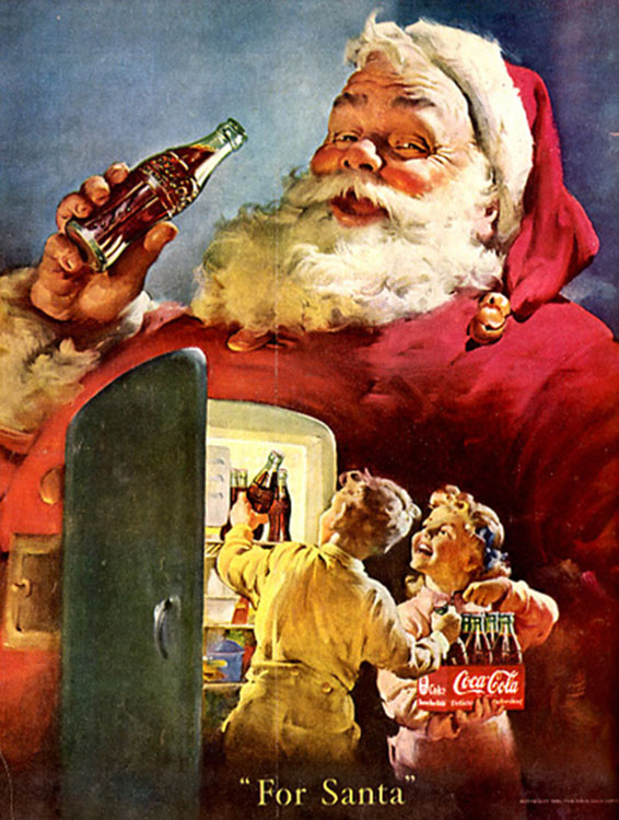 Fig. 8. These Children Are Leaving Cokes Instead of Milk for Santa[]