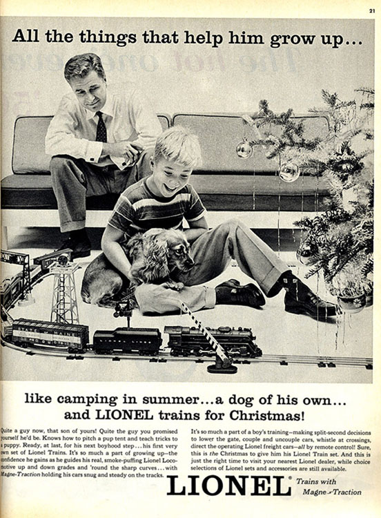 A Gender Specific Christmas Toy for a Boy from 1955[Source]
