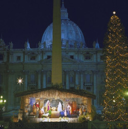 Fig. 21. A Christmas Nativity Scene at St. Peter's Basilica, Rome[]