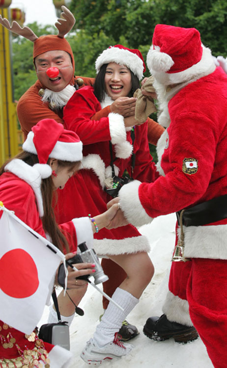 Christmas Celebrations are Increasingly Popular in Japan[Source]