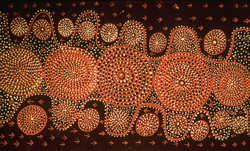 Fig. 8. Tim Leura: Emu Dreaming (1975) []