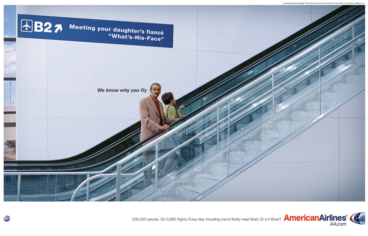 American Airlines Commercials Claim to Understand the Consumer [Source]