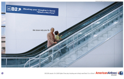Fig. 9. American Airlines Commercials Claim to Understand the Consumer []
