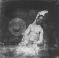 Figure 1. Self-Portrait as a Drowned Man. Hippolyte Bayard