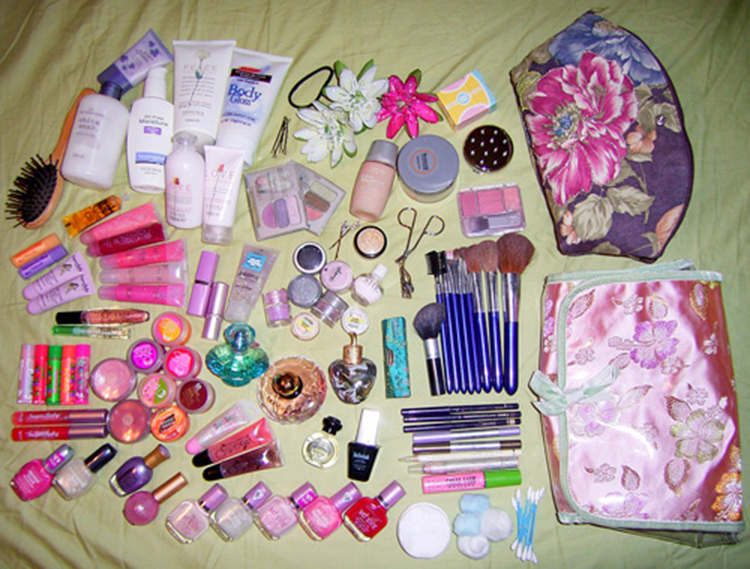 What's in Your Makeup Bag? [Source]
