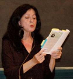 Fig. 5. Professor Judith Ortiz Cofer Reads to a Brown University Audience []