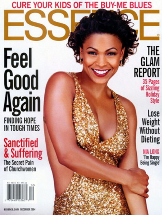 A Cover from a 2004 Issue of Essence [Source]