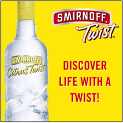 Fig. 37. Smirnoff Vodka Offers Life with a Twist []