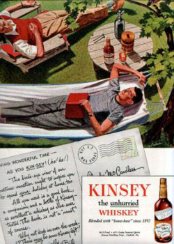 Fig. 49. This 1948 Whiskey Advertisement Shows Two Men Sharing Intimate Space []