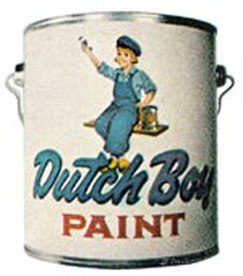 Dutch Boy Paint Is a Well Known American Brand [Source]