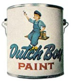 Fig. 5. Dutch Boy Paint Is a Well Known American Brand []
