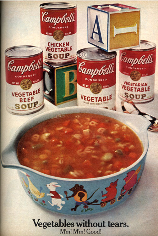 The Soup in this Ad Didn't Match What Came Out of the Can (1968) [Source]