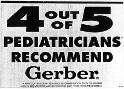 Fig. 9. Gerber Baby Food Made this Claim in Its Advertising in 1997 []