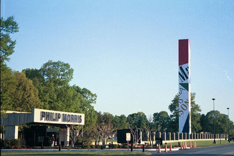 Corporate Headquarters of Philip Morris in Richmond, Virginia [Source]