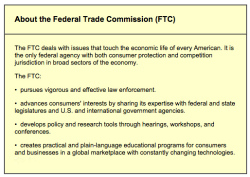 Fig. 26. Mission Statement of the FTC []