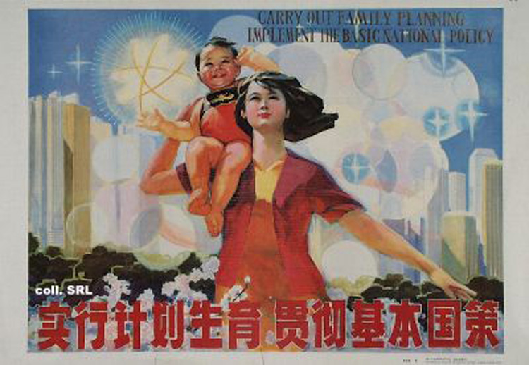 This Poster Promotes China's One-Child Policy (1986) [ENG] [Source]