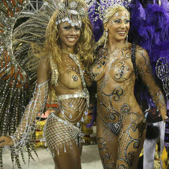 The Female Body on Display in the Rio Carnival (2007) 				 [Source]