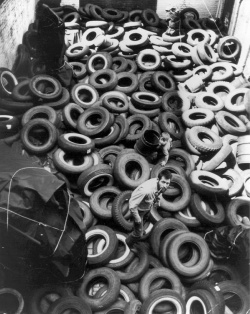 Figure 1. Allan Kaprow, Yard, 1961. Photo: Courtesy Ken Heyman.