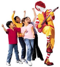 Fig. 1. Ronald McDonald Is Now a Familiar Icon for Millions