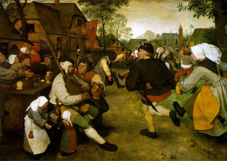 This Painting of Medieval Life by Bruegel Depicts Children as Miniature Adults2