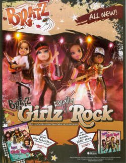 Fig. 10. Bratz Dolls Vie with Barbie for the Children's Market in the 2000s