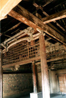Fig. 14. Kaihuasi Daxiongbaodian. Dated to 1073. Interior central bay. Photograph by author.