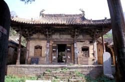 Fig. 29. Longmensi Daxiongbaodian. Dated to 1098. Front façade. Photograph by author.