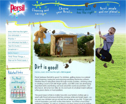 Fig. 15. This British Campaign for Persil, a Unilever Detergent, Uses a Similar Approach to the American Campaign for Wisk