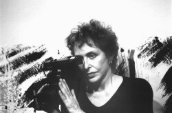 Figure 1. Carolee Schneemann, San Francisco, 1990. Photo: Ellen Zweig.