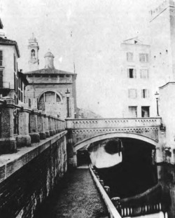 5. Bridge at the Porta Ticense, photographed in 1866, after restoration and new construction by Boito's colleague Emilio Bignami.