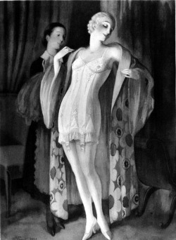 Figure 7. A modern corset, drawing by Jean Droit, 1932, in Libron and Clouzot.